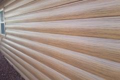Cedarwood HD Log Siding