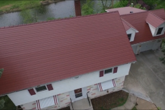 Classic Red HD Seamless Roofing