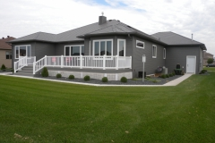 Charcoal Gray Siding & Charcoal Gray HD Seamless Roofing