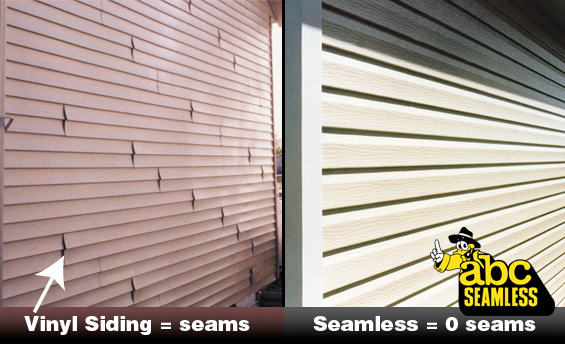 No Ugly Seams In Our Siding Abc Seamless