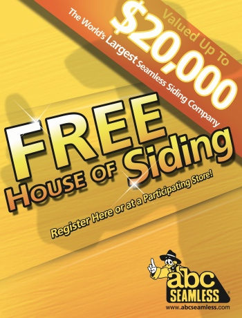 Enter to Win a FREE HOUSE OF SIDING!