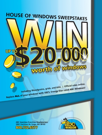 Enter to Win a FREE HOUSE OF WINDOWS!