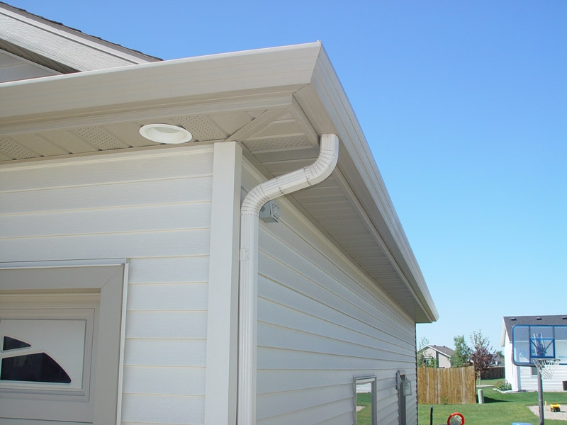 Gutters rain gutters seamless for New gutters