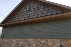T-Tone Blend Gable & Willow Siding