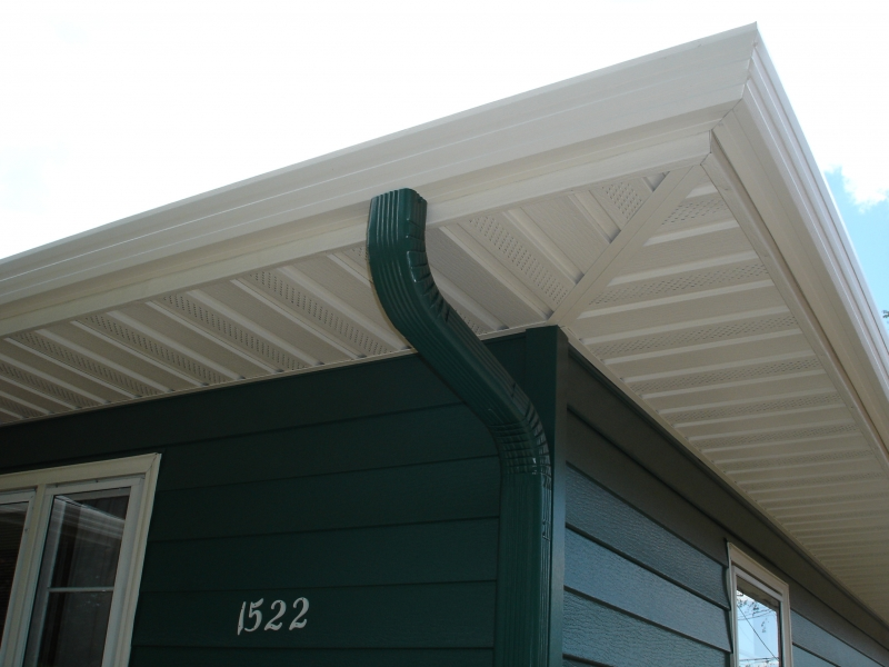 Soffit And Fascia Steel Installation