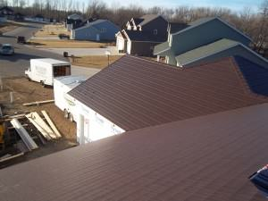 Steel Roof Installation